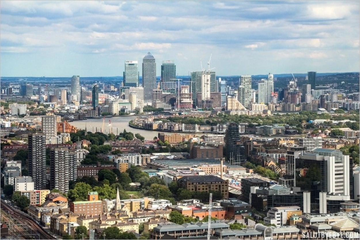 Vue de Londres depuis le SkyGarden