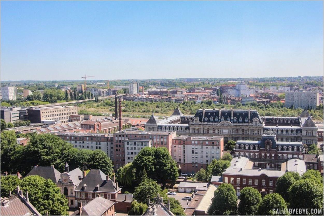 Vue sur le campus Pasteur de l'université Lille