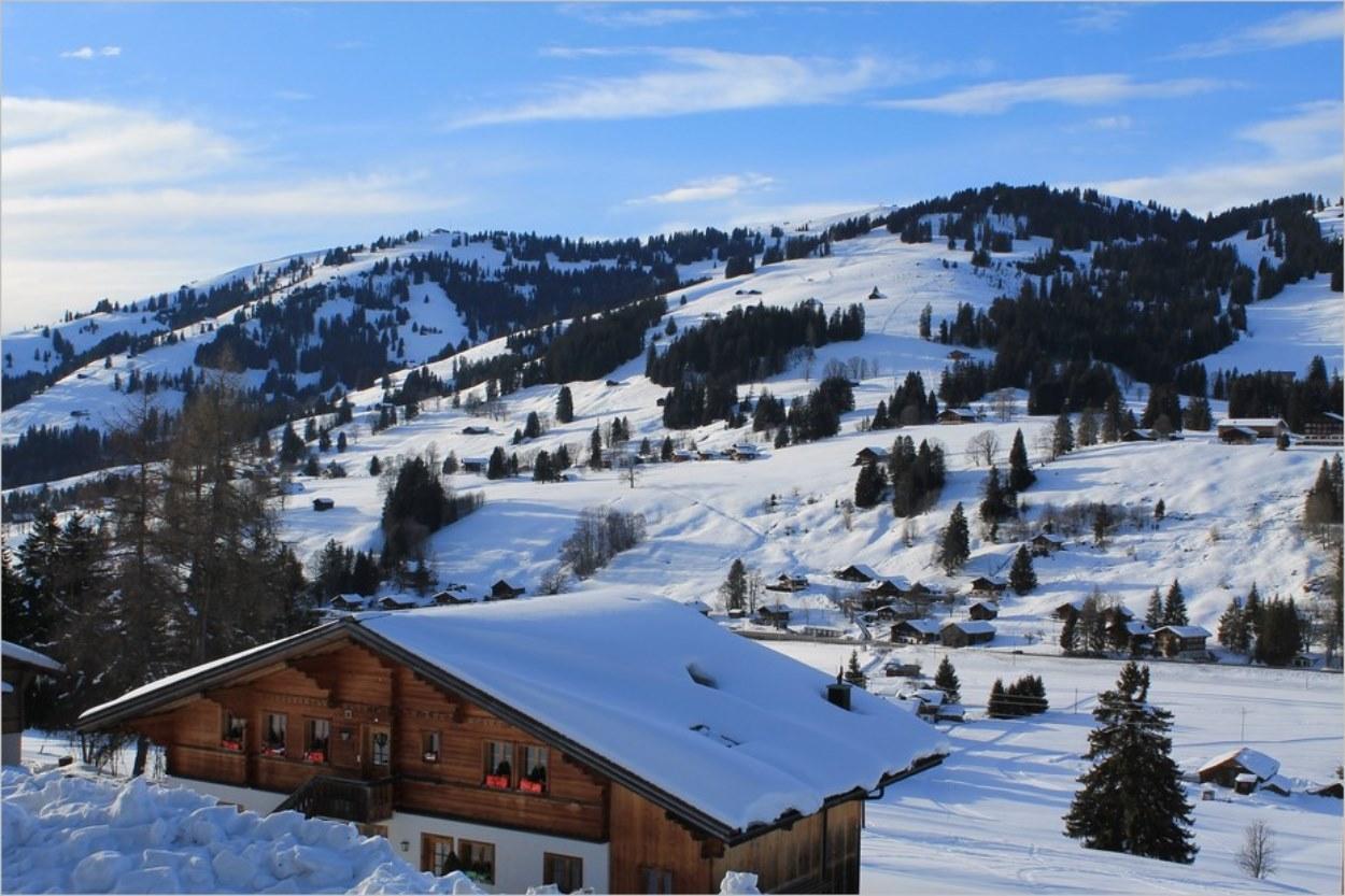 Gstaad en hiver