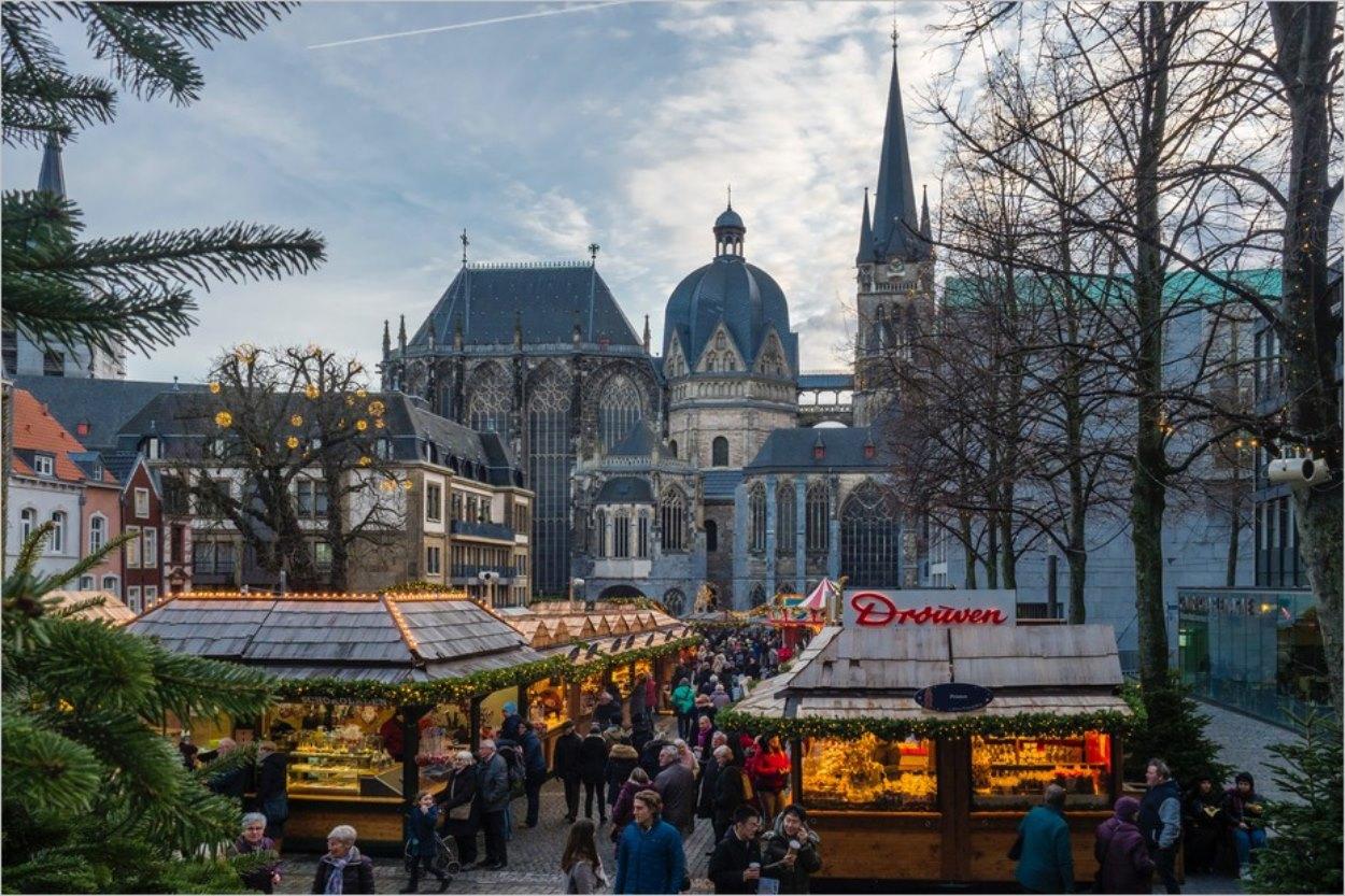 Le marché de Noël d'Aachen (Aix-la-Chapelle)