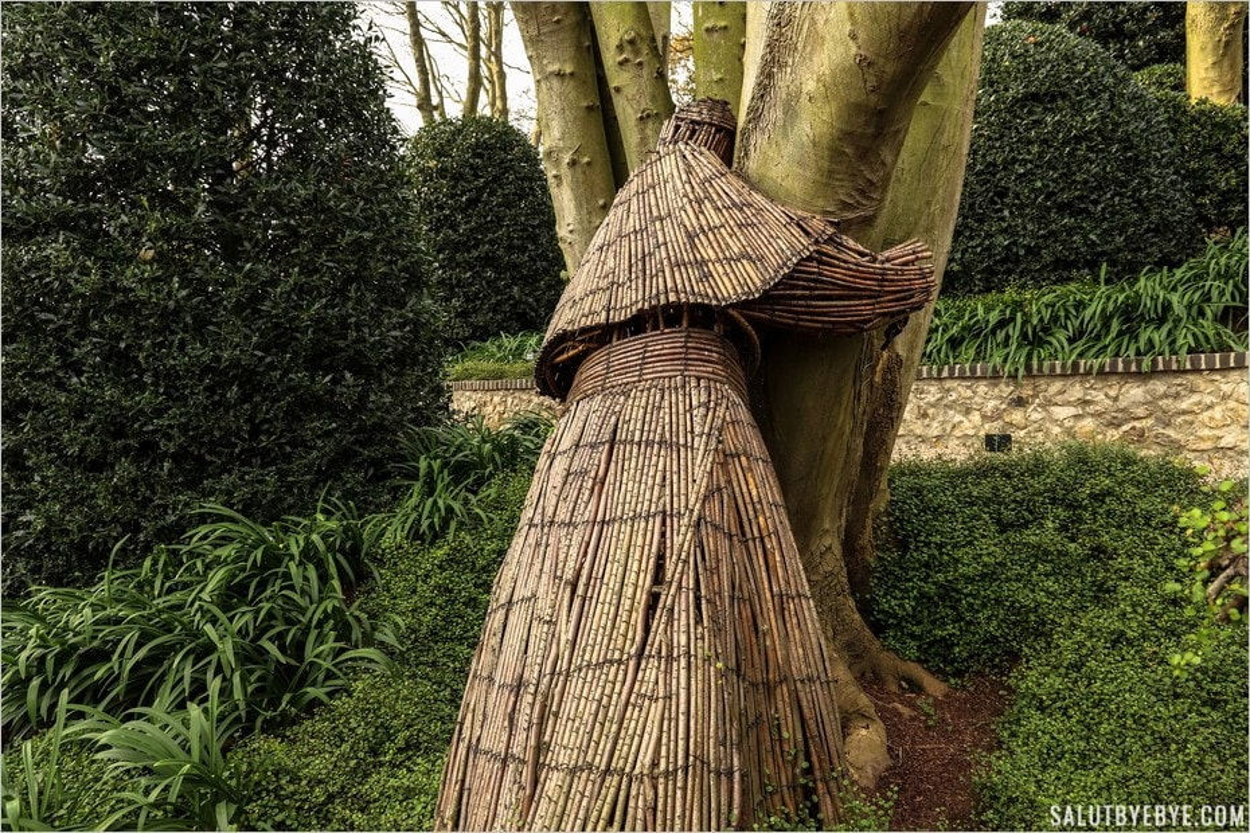 Tree Hug dans les Jardins d'Etretat