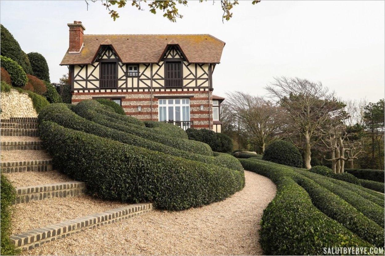 La villa Roxelane à Etretat en Normandie