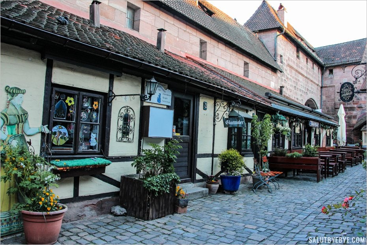 Quelques artisans du Handwerkerhof de Nuremberg