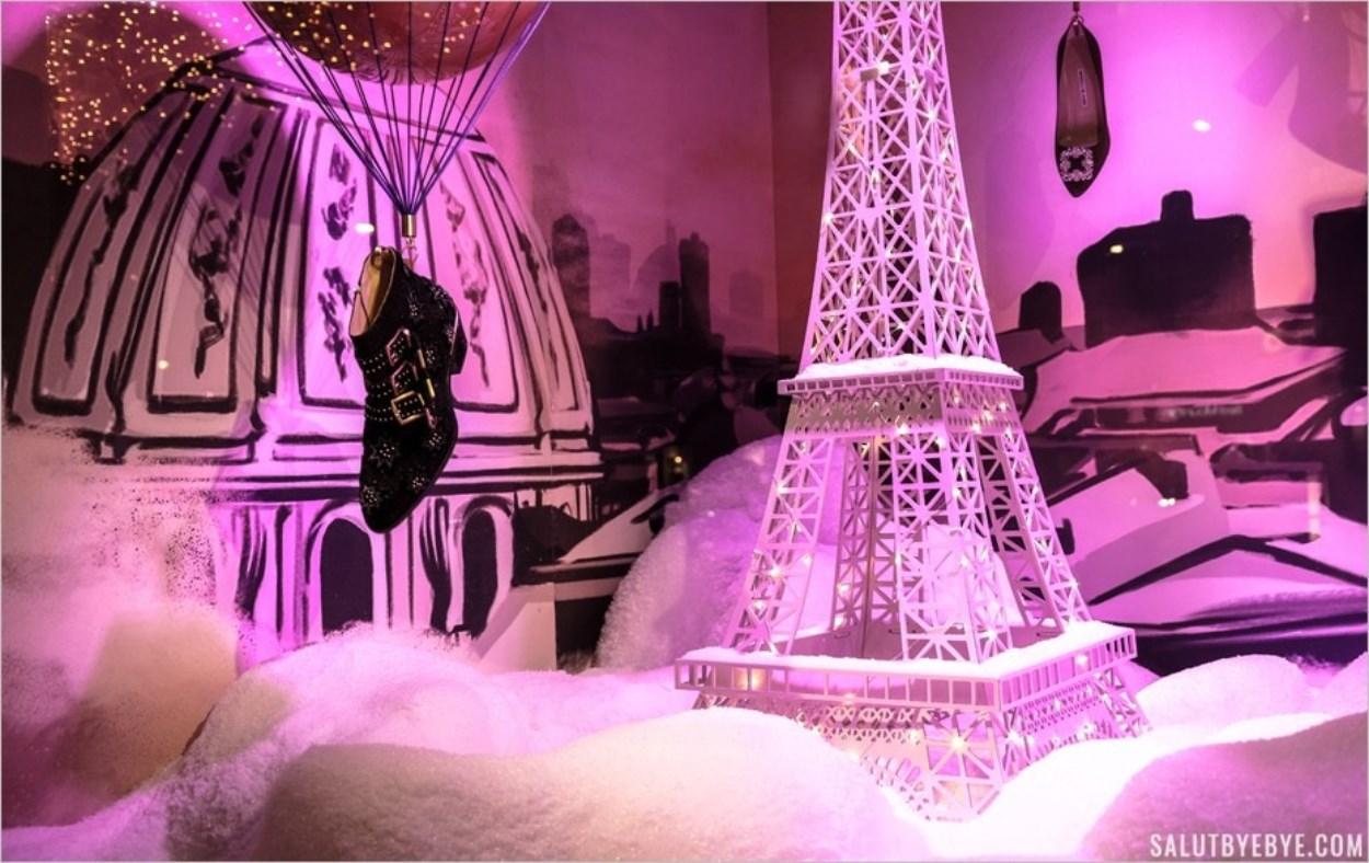 Pluie de chaussures sur Paris