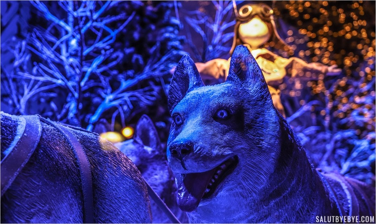 Un équipage de loups - Noël 2017 dans les grands magasins