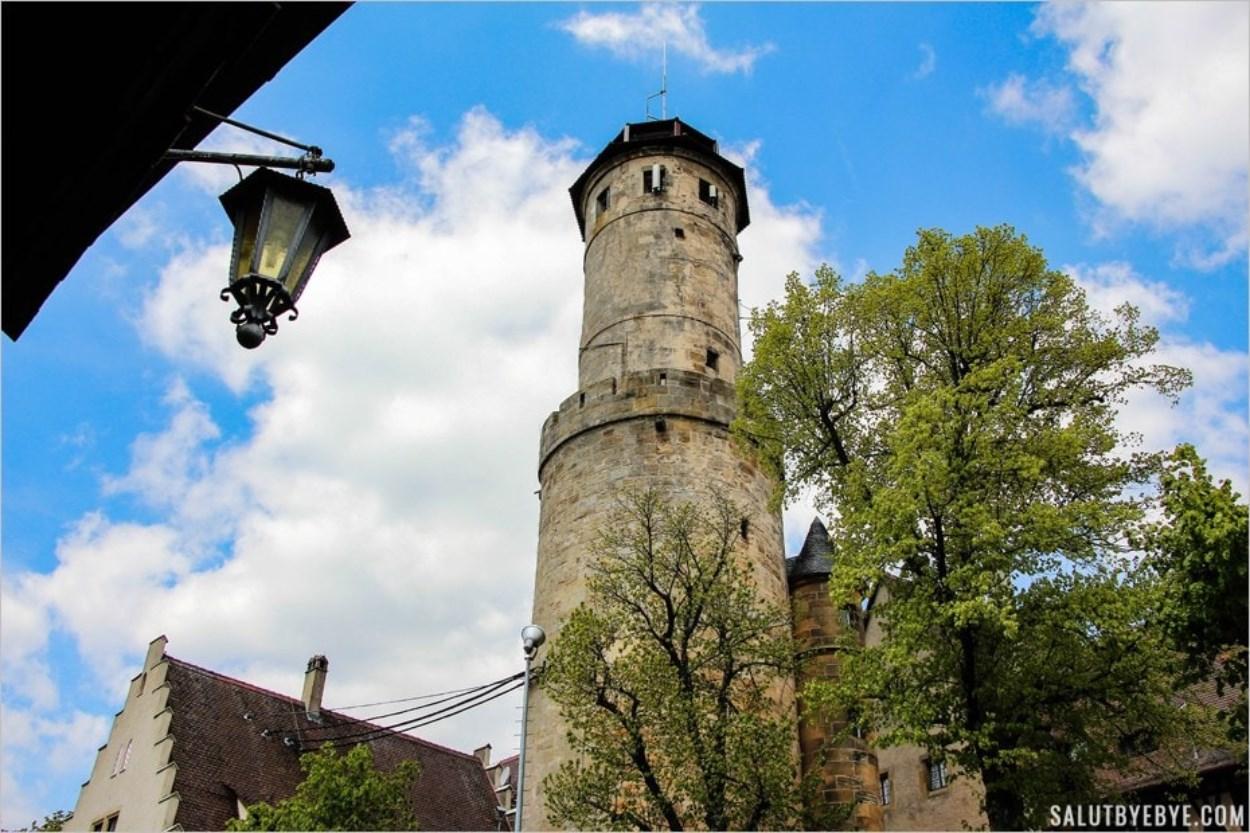 La tour de l'Altenburg