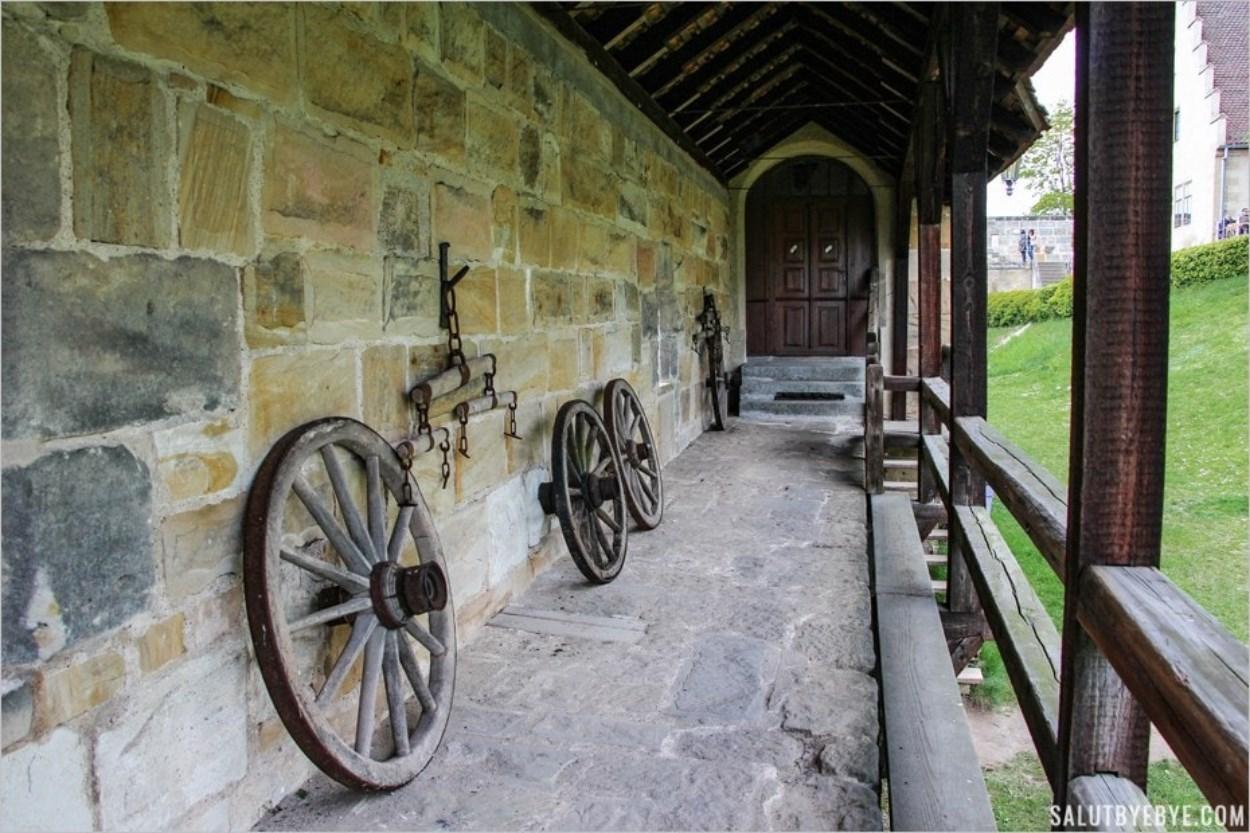 Les remparts de l'Altenburg