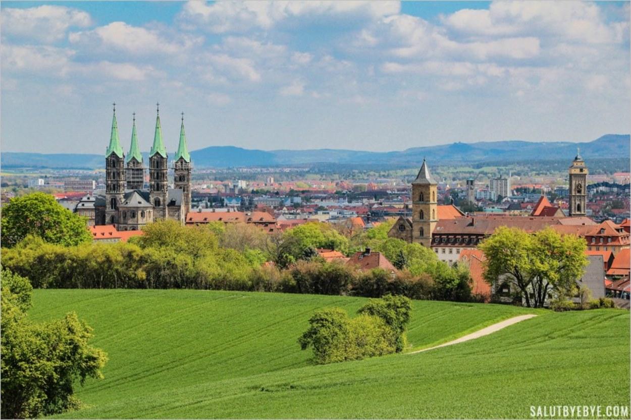 Visite de Bamberg en Allemagne, village classé au patrimoine mondial de l'UNESCO