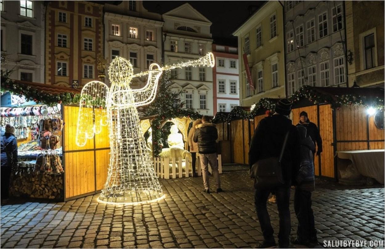 Un petit marché de Noël à Prague