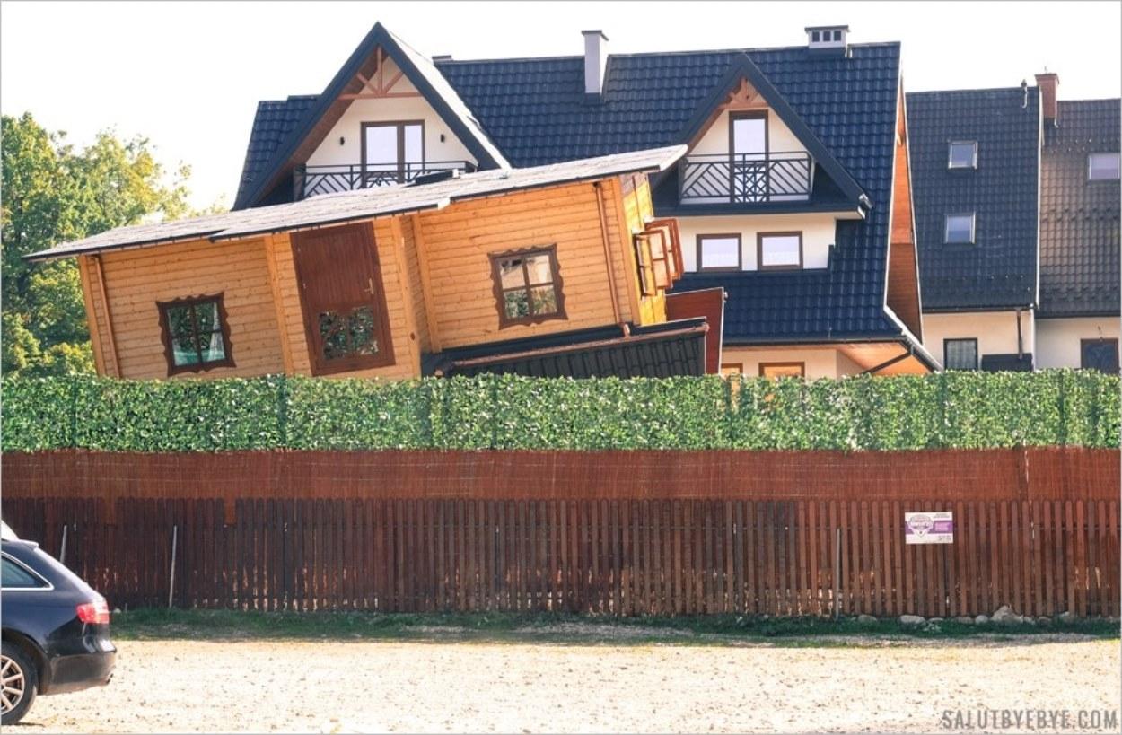 La maison à l'envers (Dom Do Gory Nogami) à Zakopane