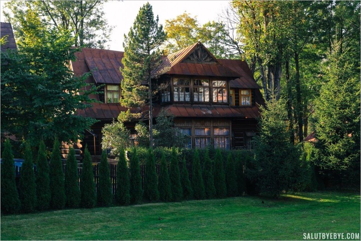 Une maison dans le style Zakopane