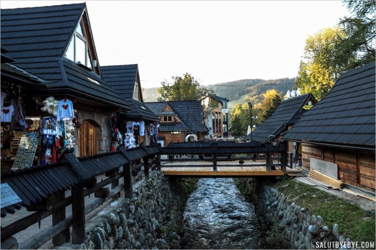 Marché artisanal de Zakopane en Pologne