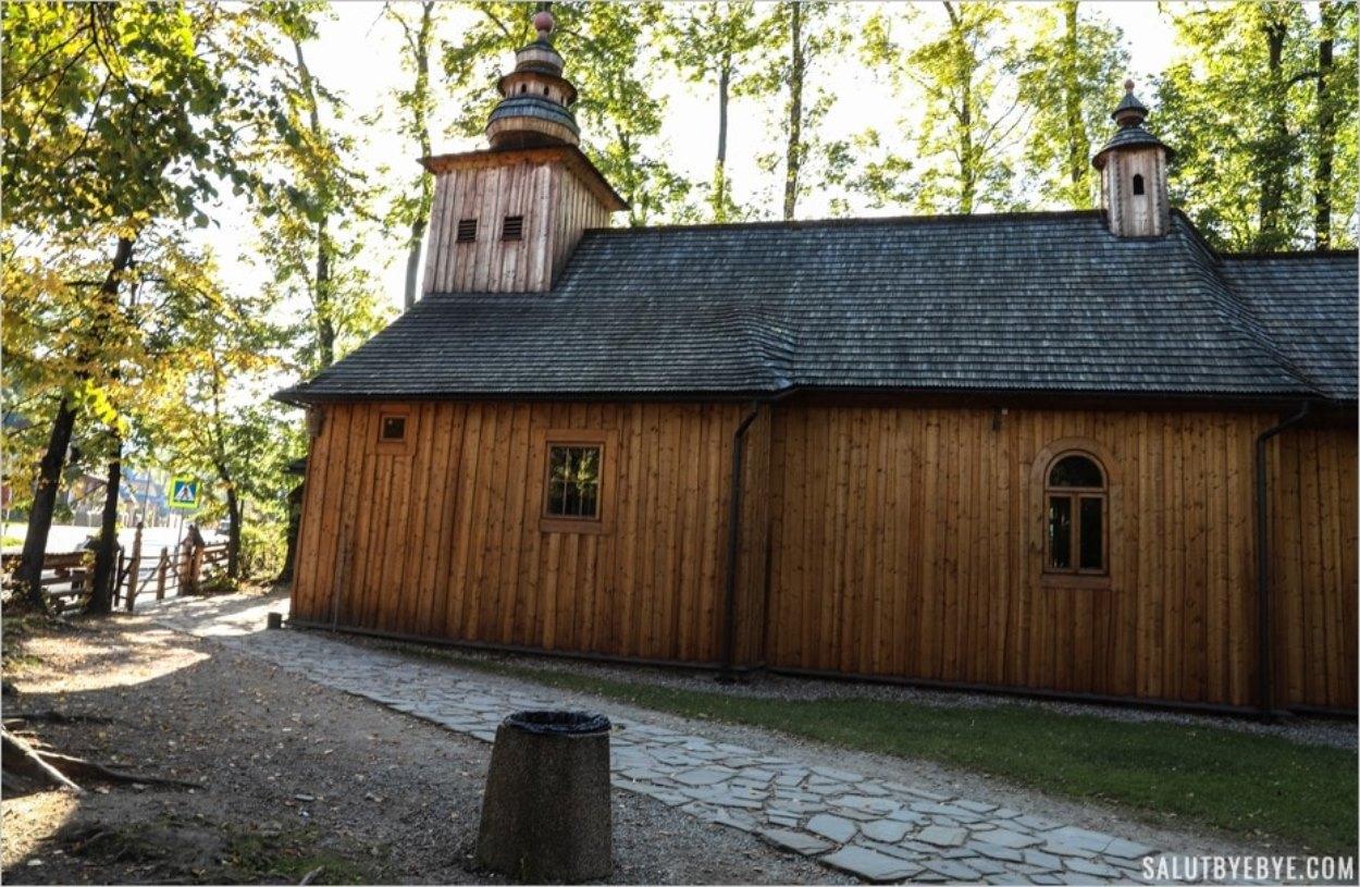 La Stary Kościół à Zakopane