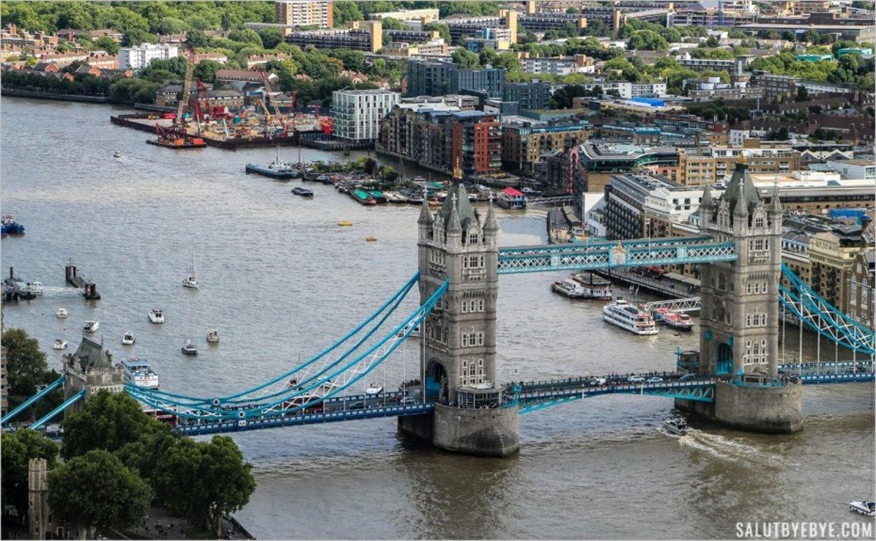 Tower Bridge vu depuis le SkyGarden