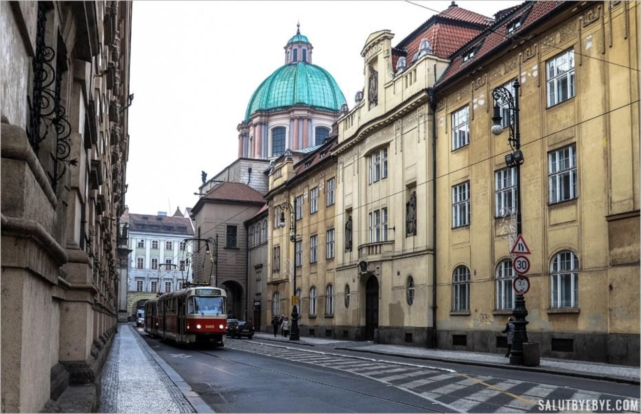 Le tramway de Prague