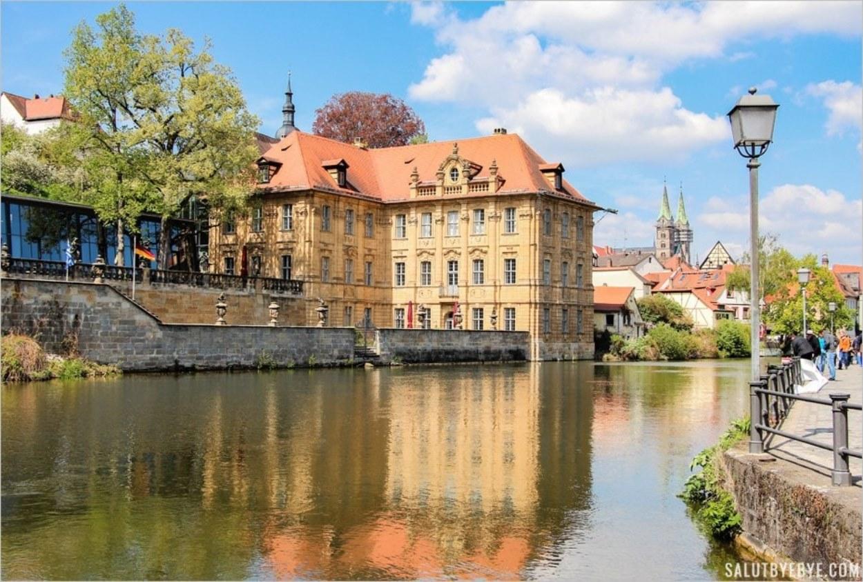La Villa Concordia à Bamberg