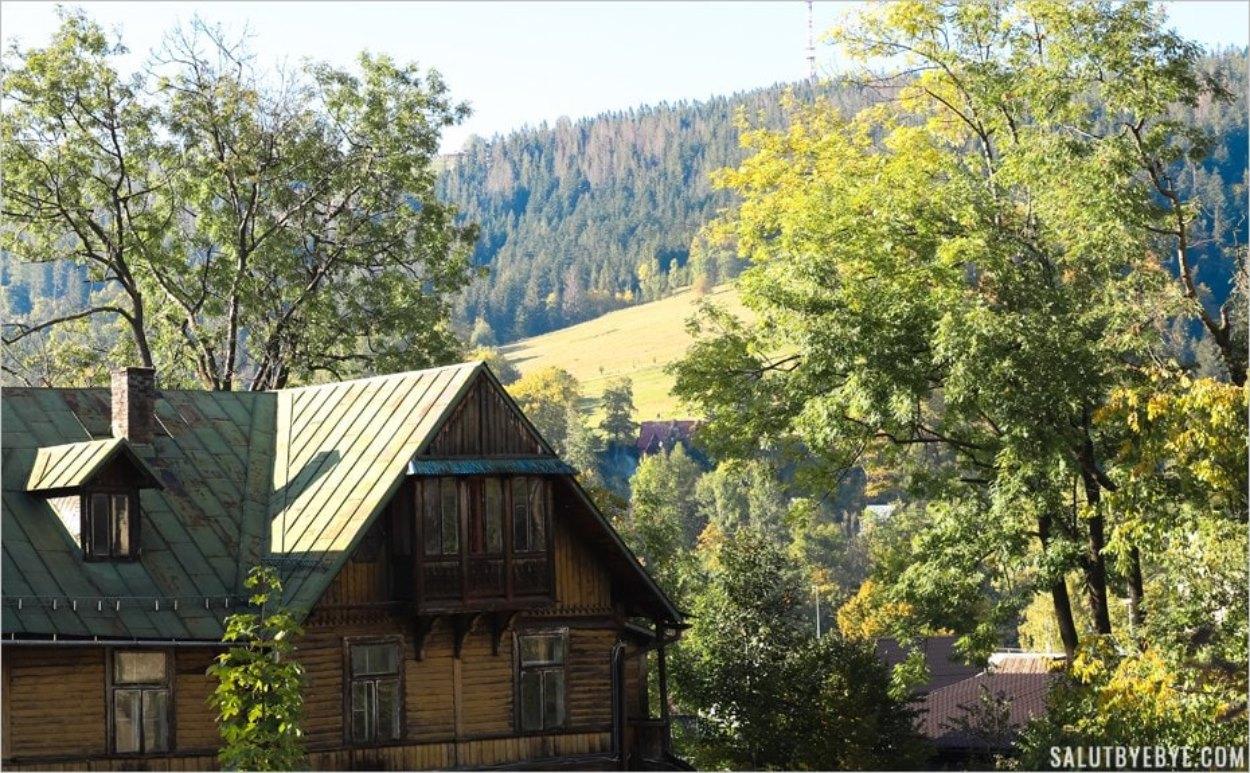 Zakopane en Pologne, au pied des montagnes
