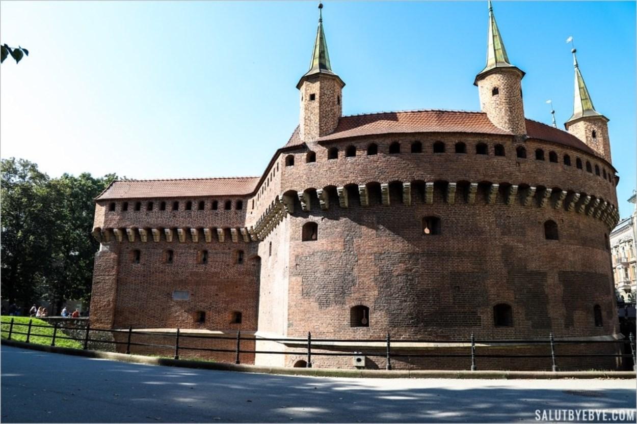 La Barbacane à Cracovie
