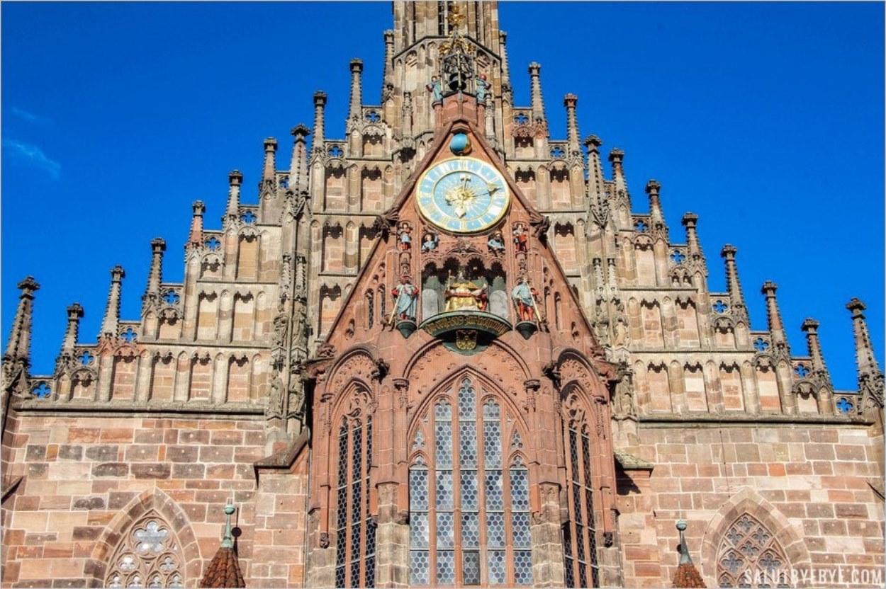 L'horloge de la Frauenkirche