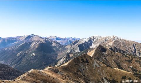 La montagne en Pologne : Kasprowy Wierch et Gubalowka dans les Tatras