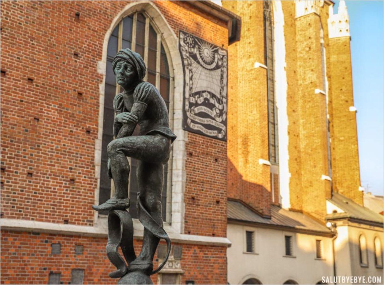 Sculpture à Cracovie