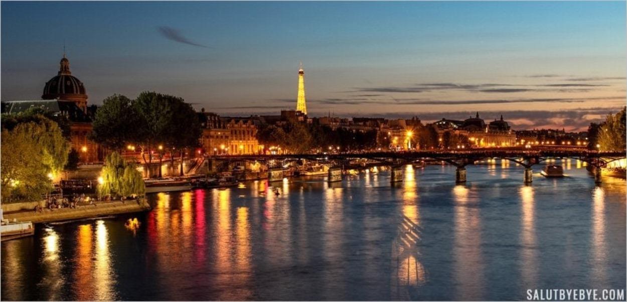 La Seine à Paris... de nuit