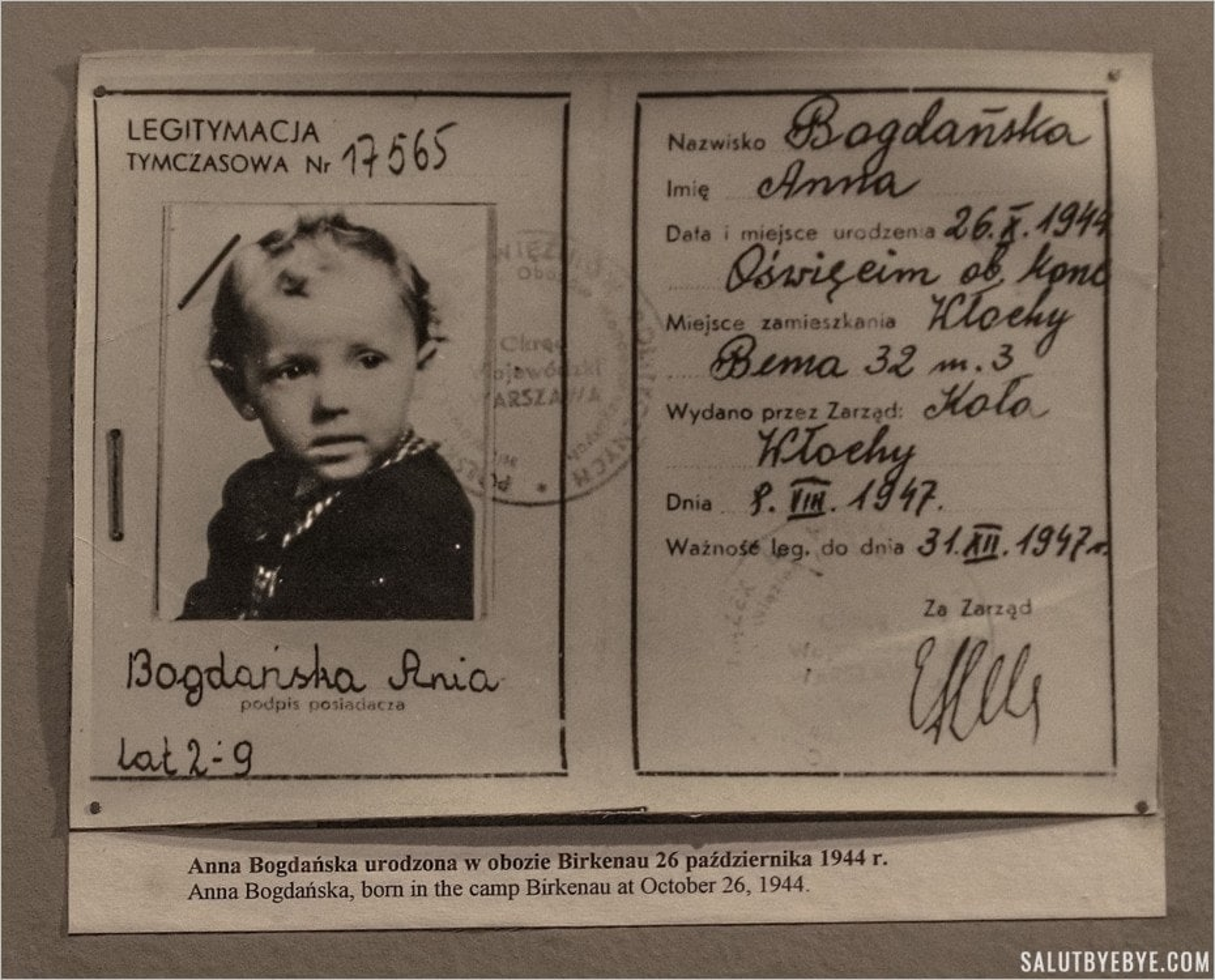 Ania Bogdanska, née le 26 octobre 1944 à Birkenau