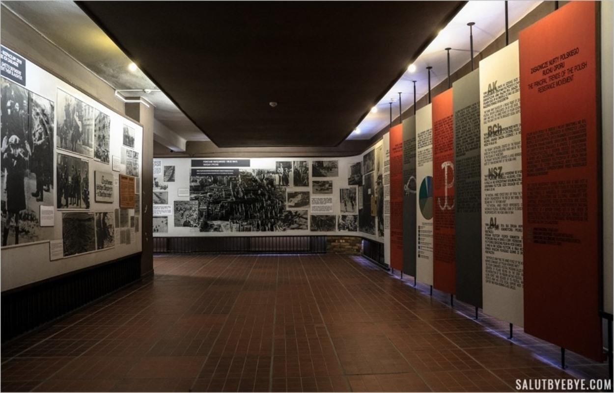 Musée d'Auschwitz I - Au rez-de-chaussée du block 14