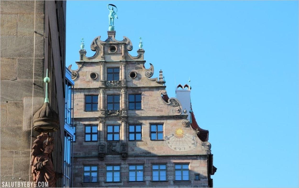 Une météo parfaite à Nuremberg