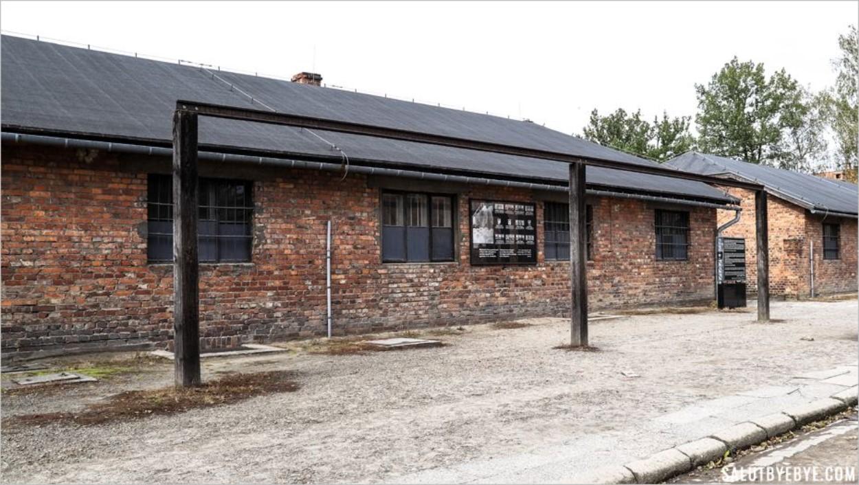 Les potences de l'Appellplatz - Auschwitz I