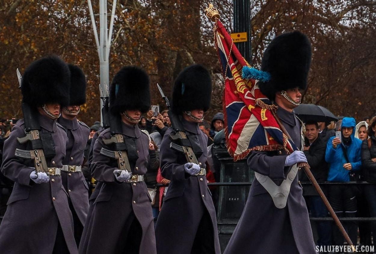 Relève de la garde à Londres