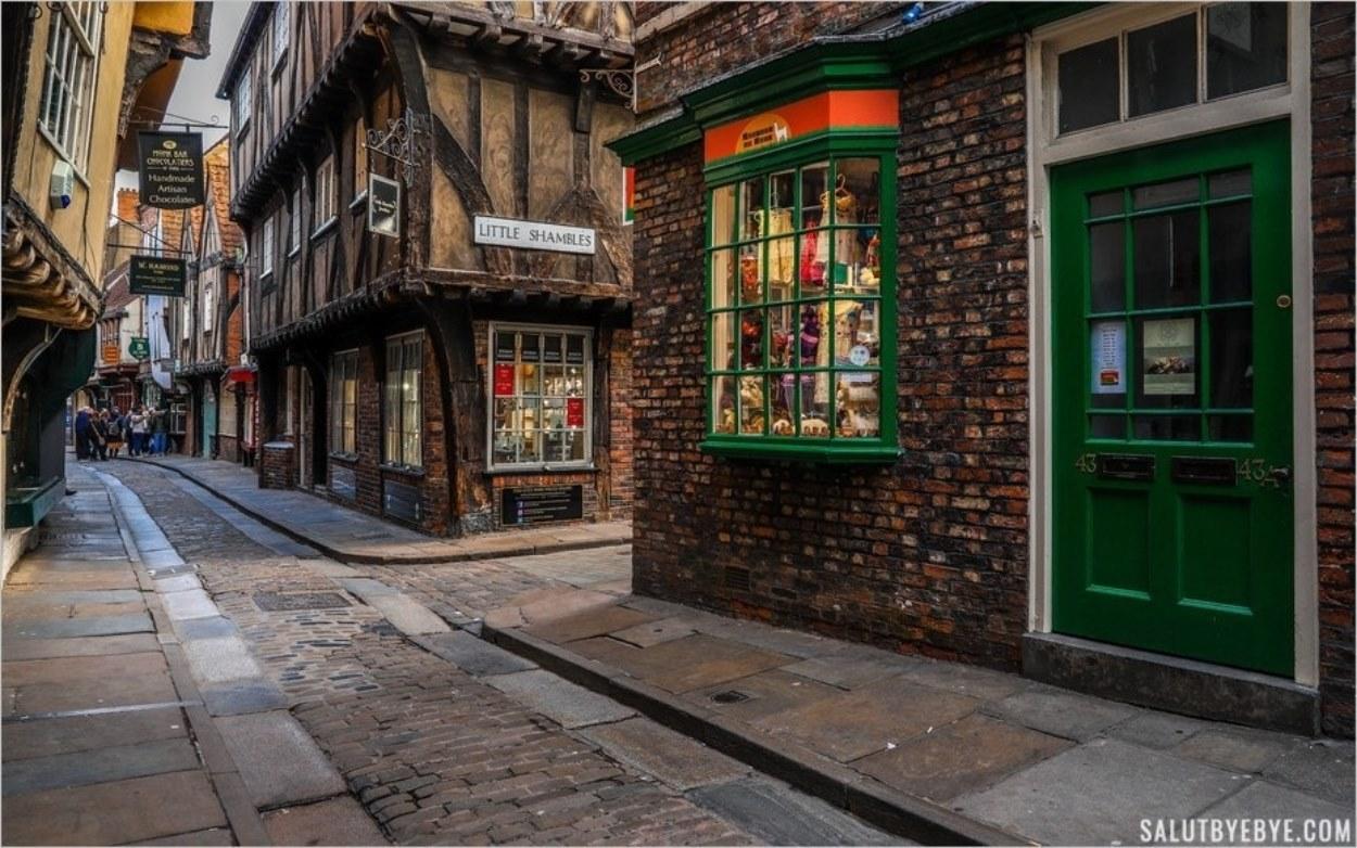 The Shambles à York, plongée dans l'histoire… et dans l'univers d'Harry Potter