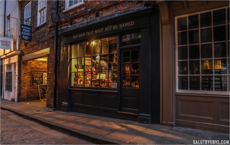 The Shop That Must Not Be Named - York