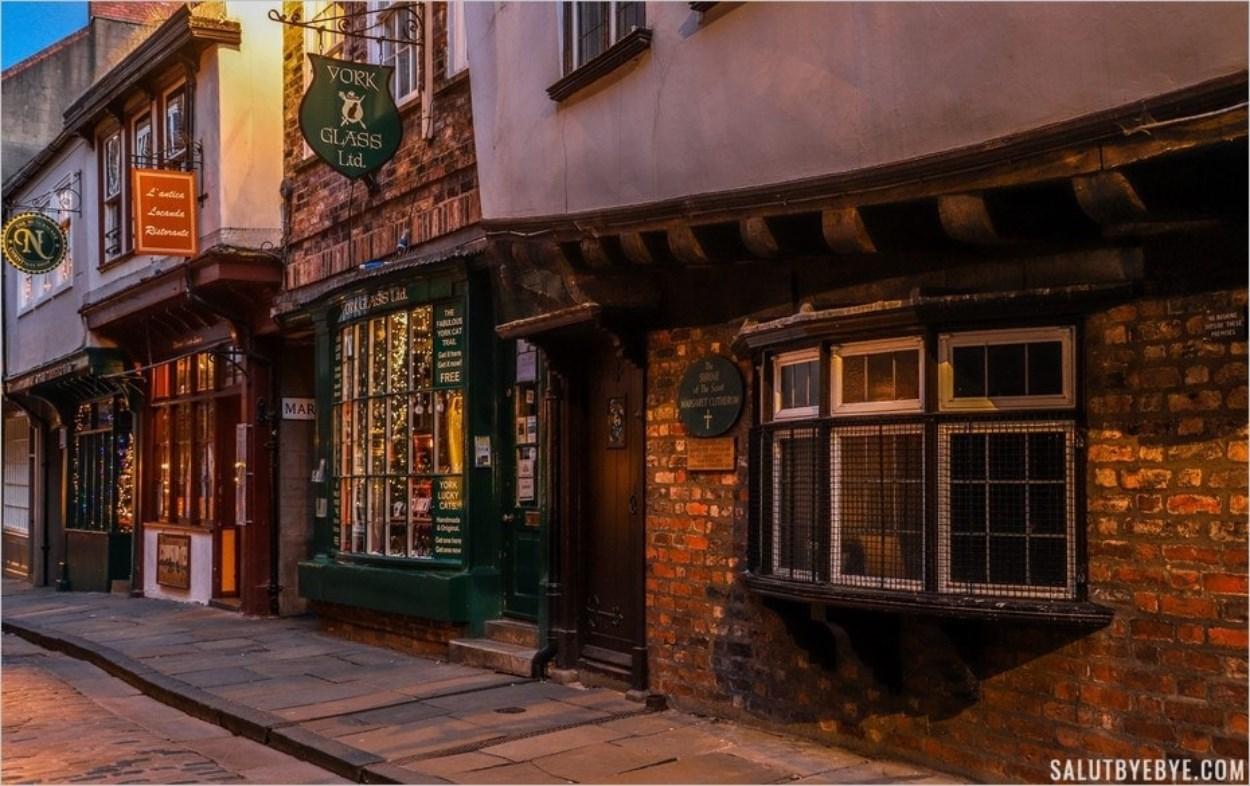 L'ancienne demeure de Margaret Clitherow à York