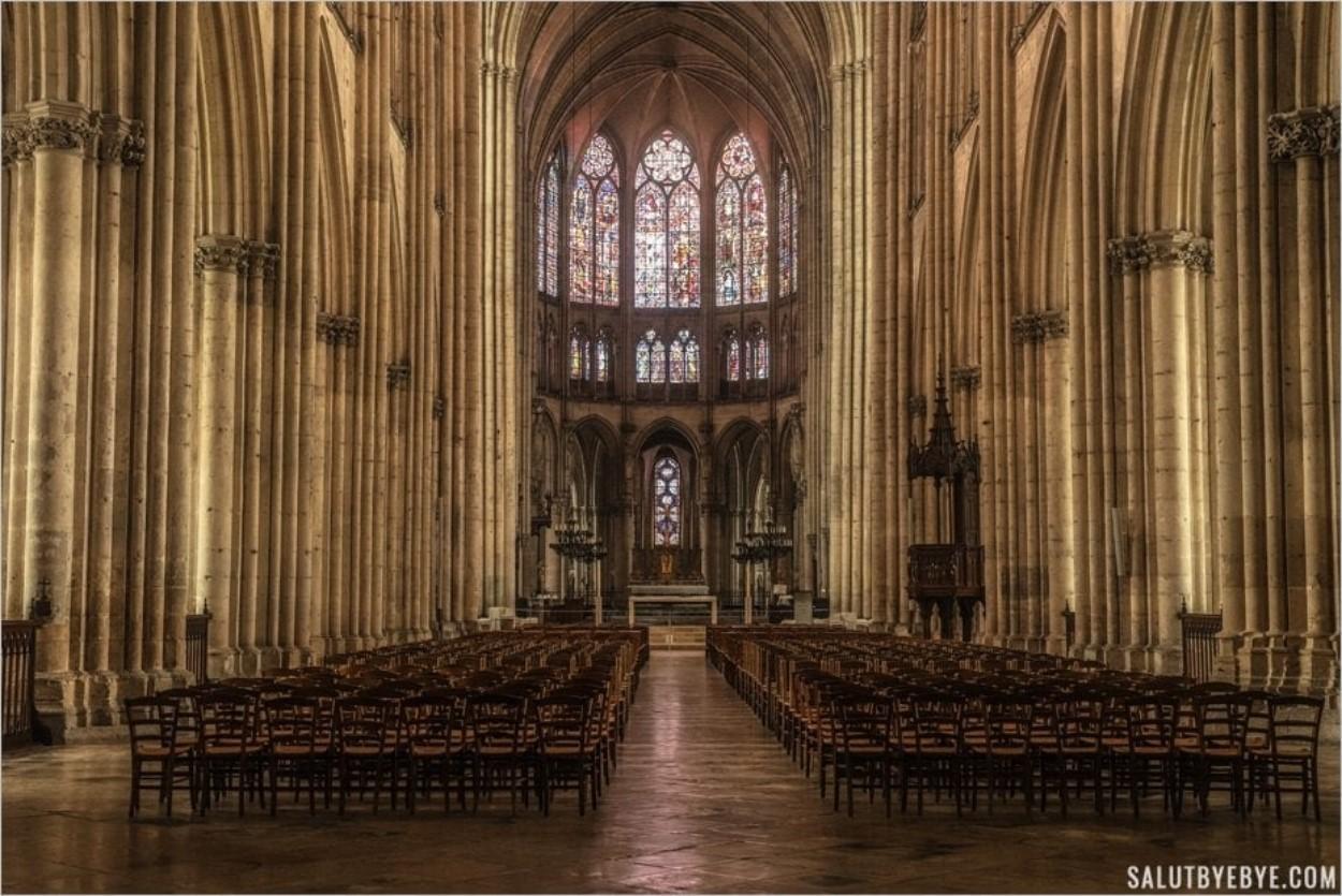 Intérieur de la Cathédrale de Troyes