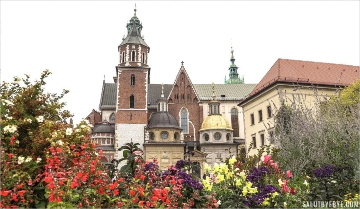 Le château du Wawel à Cracovie et sa cathédrale