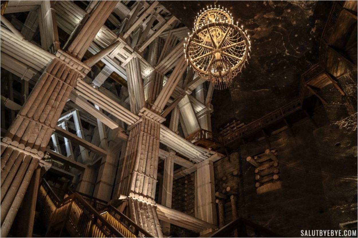 Chambre Michalowice dans la mine de Wieliczka