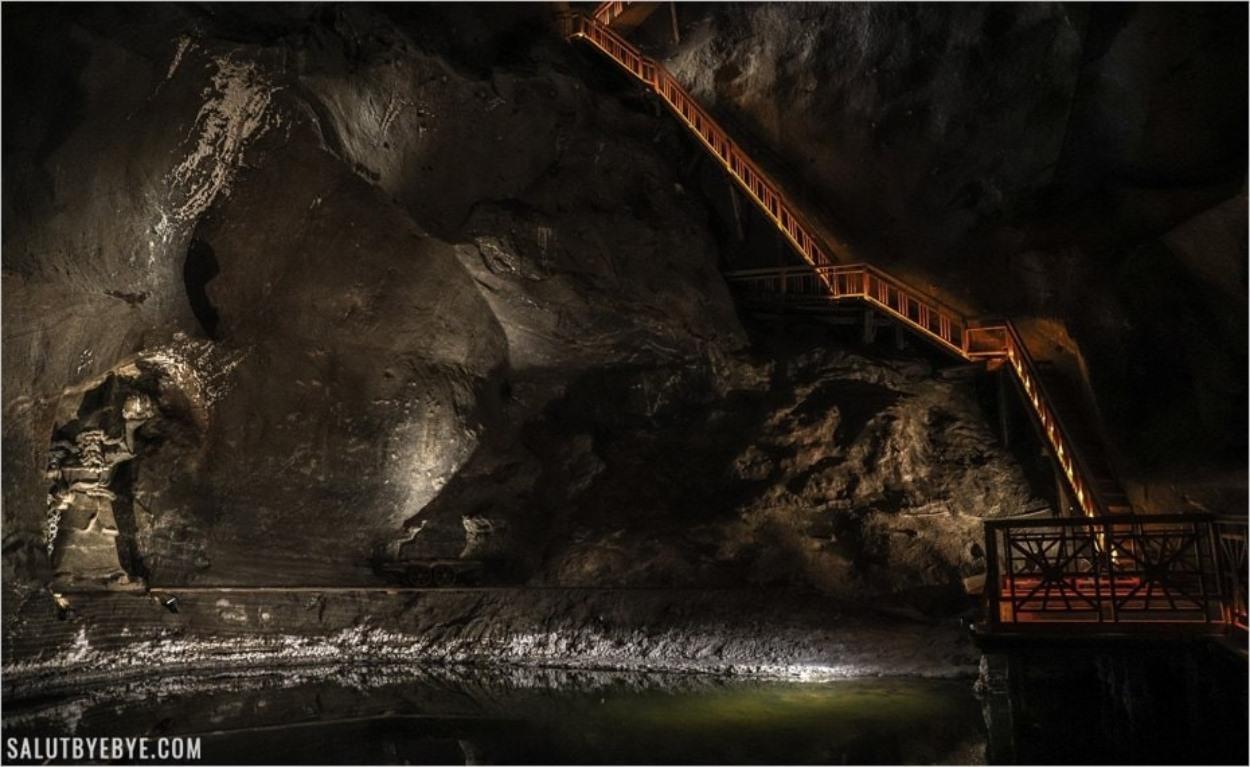 Chambre de Weimar dans les mines de sel de Wieliczka