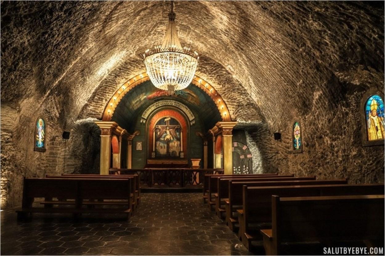Chapelle Saint Jean - Mines de sel de Wieliczka