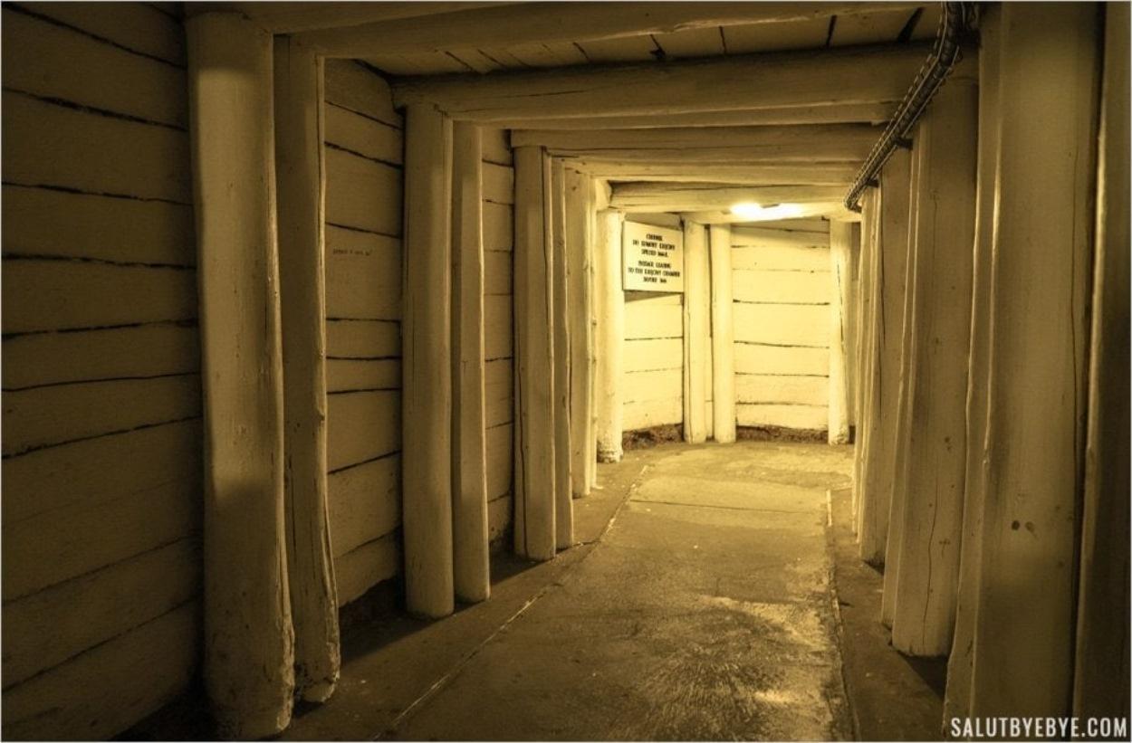 Les couloirs blancs de Wieliczka en Pologne