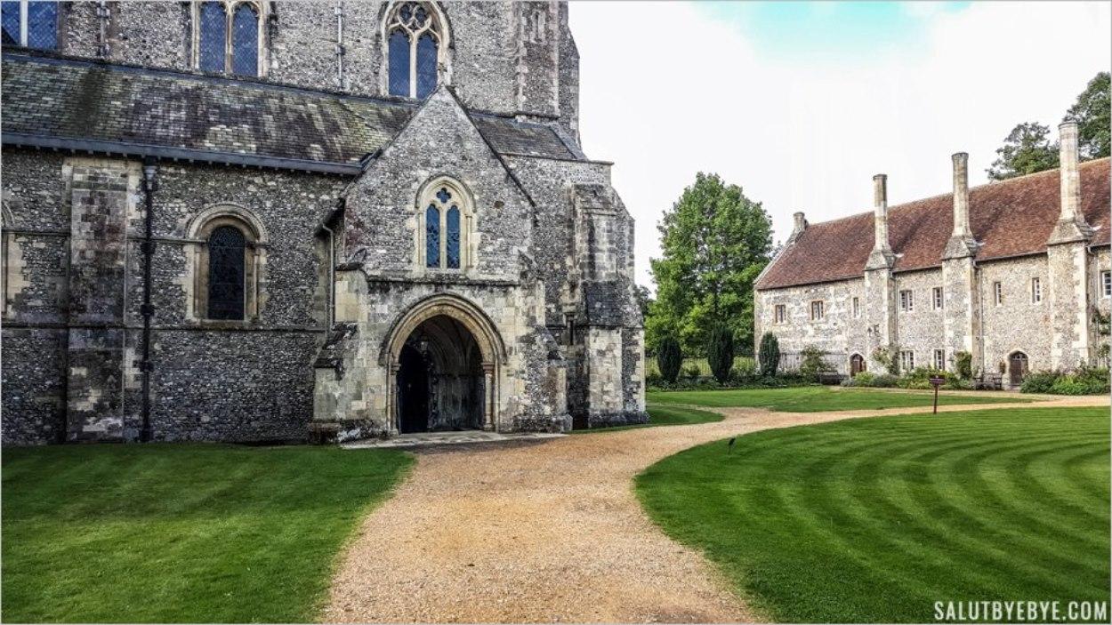 Entrée de la chapelle - Hospital Of St Cross, Winchester
