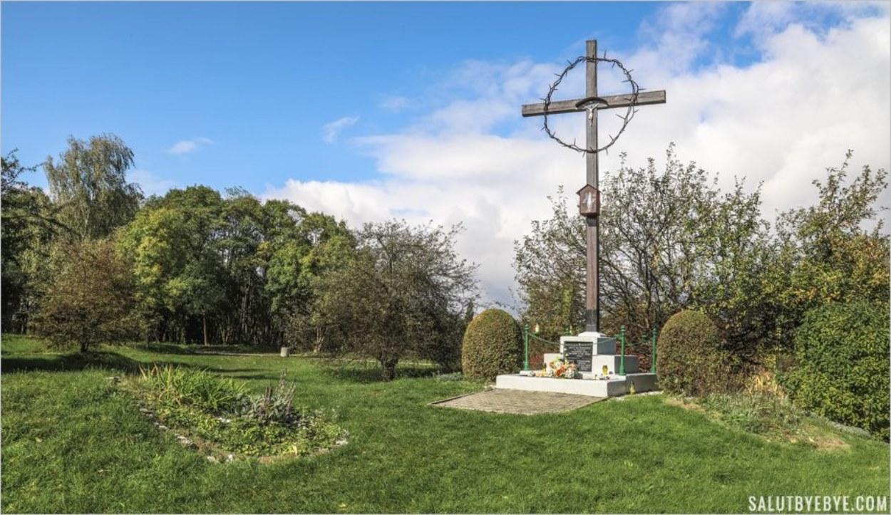Hujowa Górka, mémorial aux victimes de la barbarie nazie à Plaszow