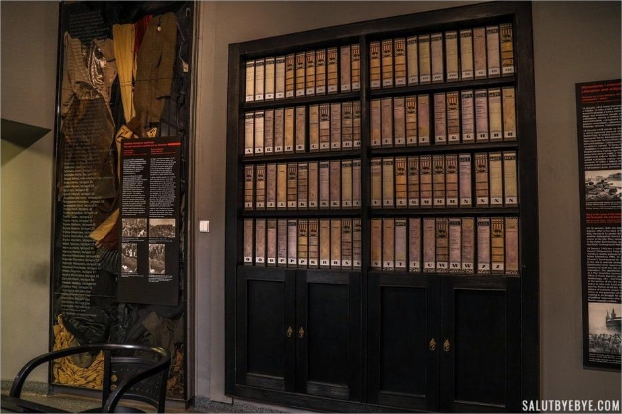 L'intérieur du musée de la rue Pomorska aujourd'hui