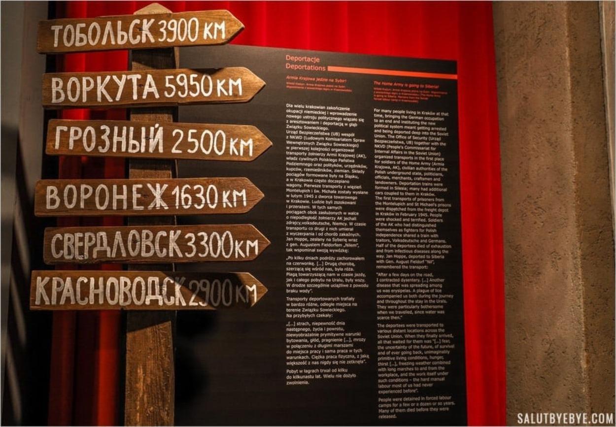 Déportations en Sibérie