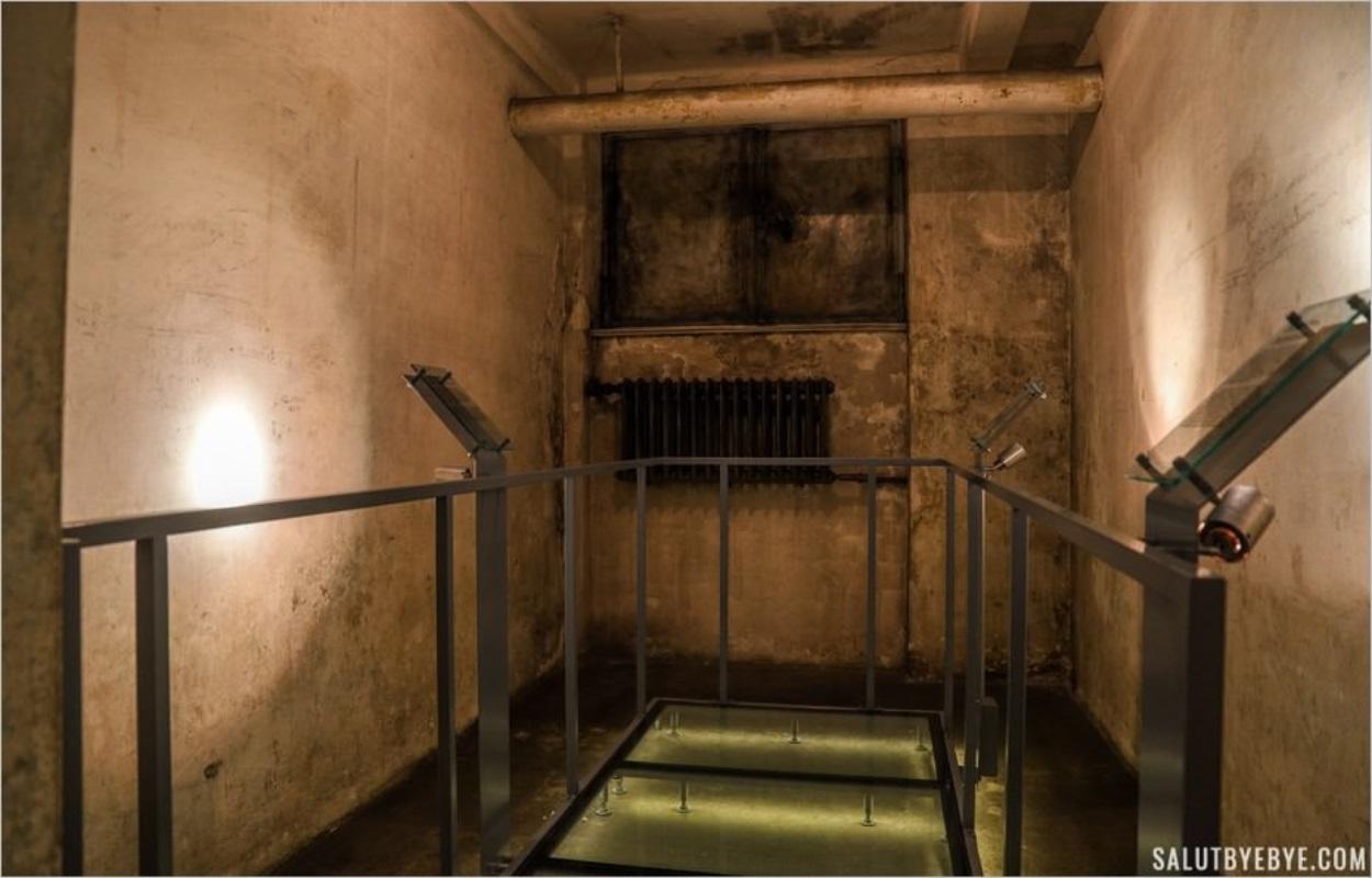 Cellules de l'ancien QG de la Gestapo de Cracovie
