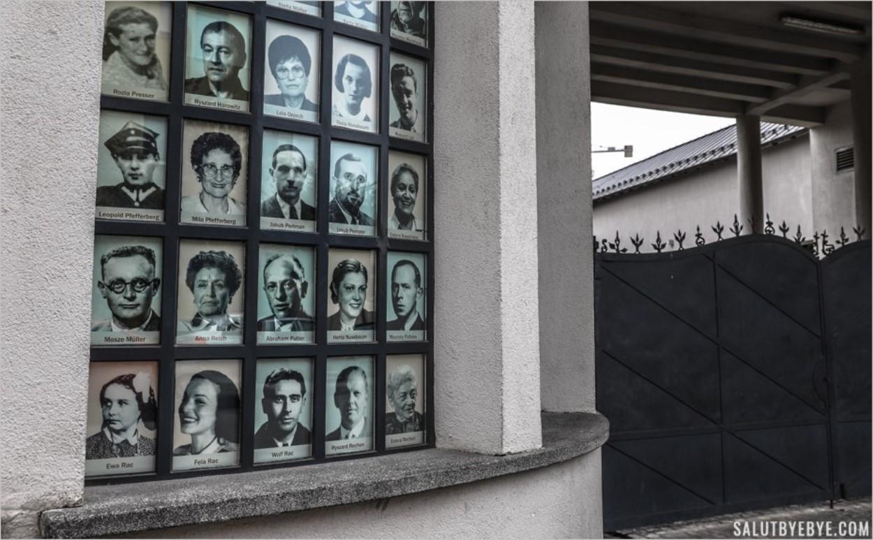"""Les photos des """"Juifs de Schindler"""""""