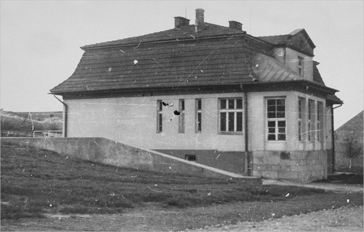 La villa d'Amon Göth avant sa rénovation