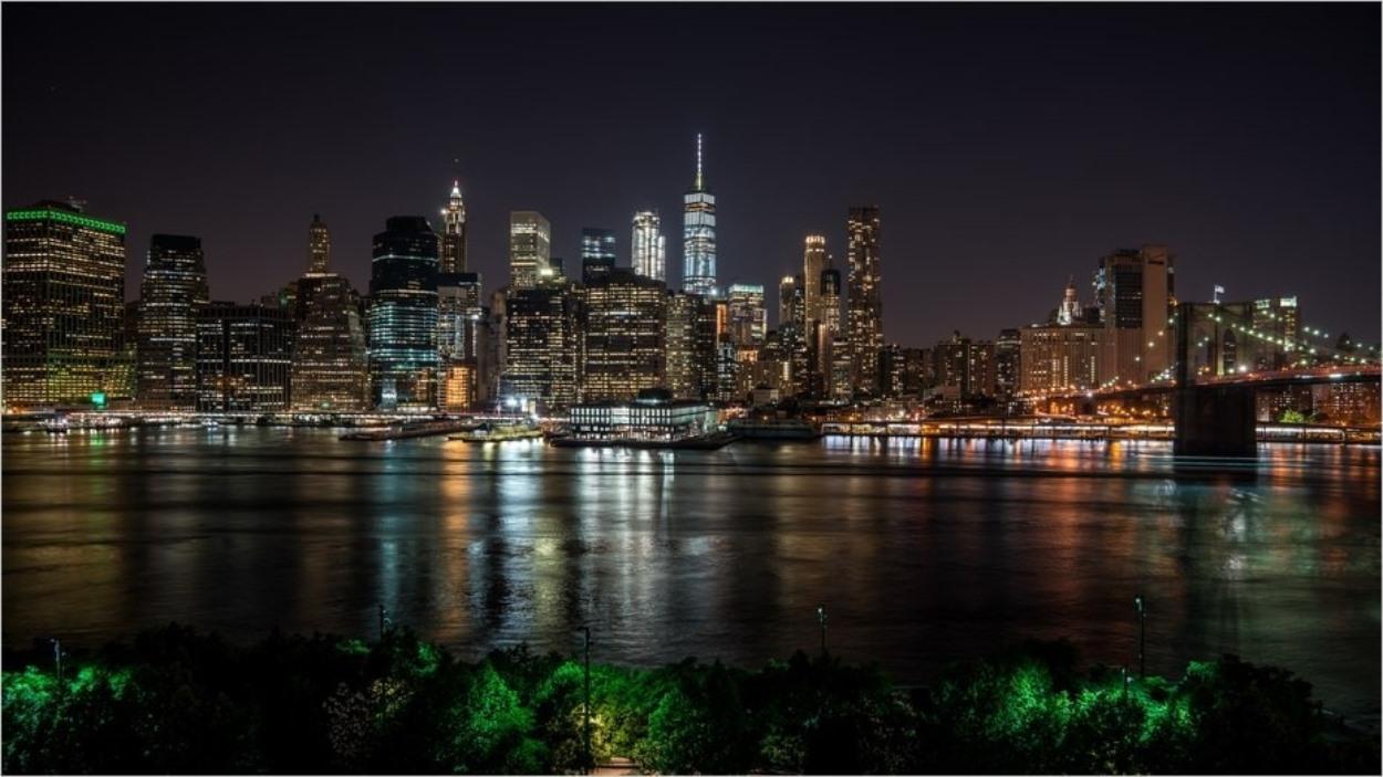 Vue depuis le 1 Hotel Brooklyn Bridge à New York