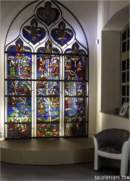L'Arbre de Jessé au Musée du Vitrail de Troyes