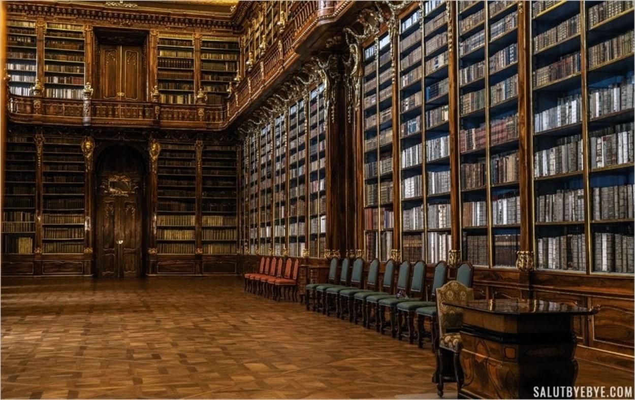 Bibliothèque du Couvent de Strahov